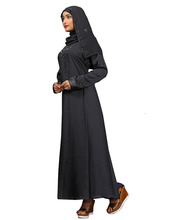 <span class=keywords><strong>Femmes</strong></span> Casual Vêtements Islamiques Plaine <span class=keywords><strong>Noir</strong></span> Diamant Pierre Travail Burqa <span class=keywords><strong>Abaya</strong></span> 2018