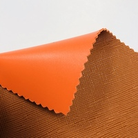 Embossed double face PVC leather with 2.4 MM thickness for bag making
