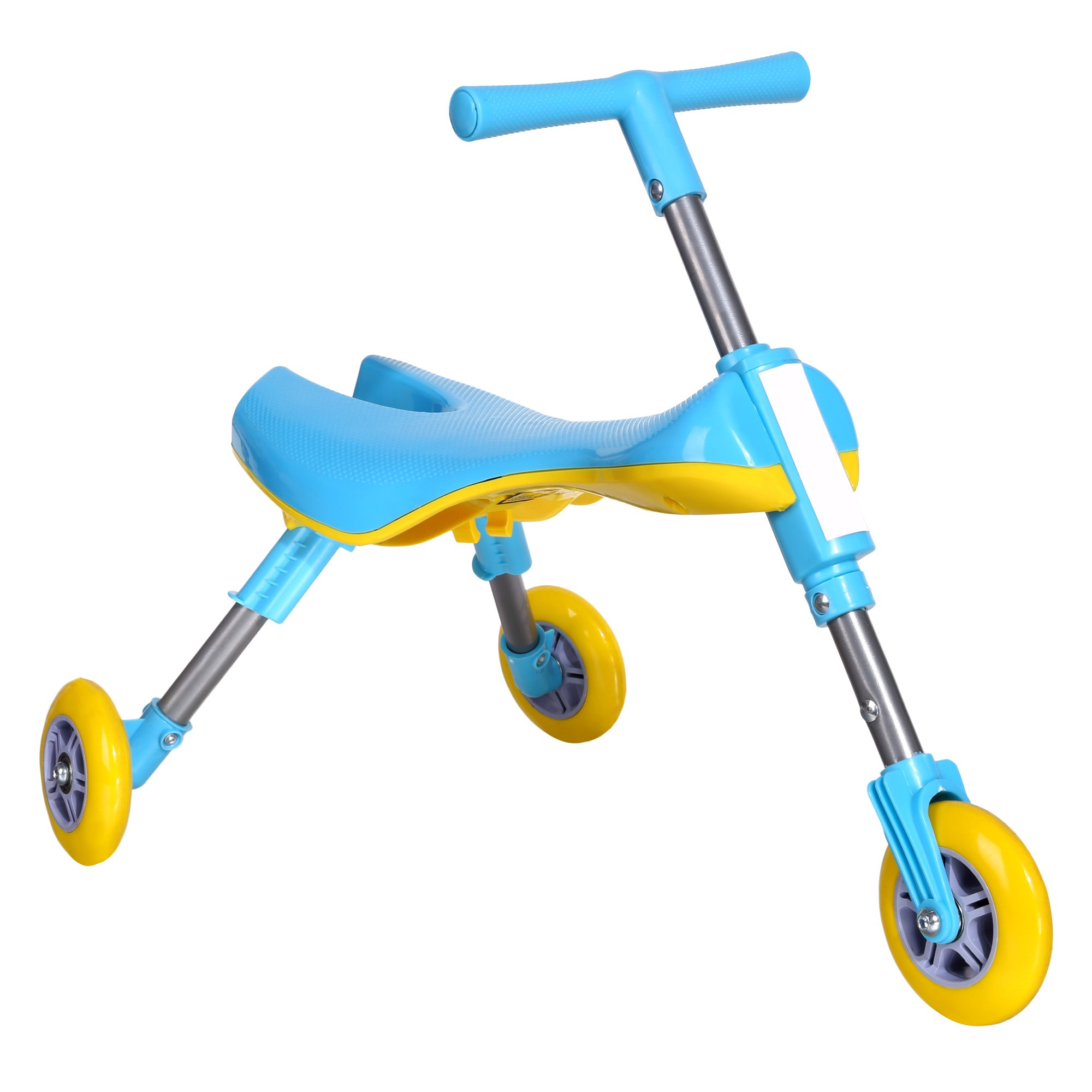 0d6ee764366 Get Quotations · Funmily Foldable Tricycle Indoor Outdoor Toddlers Glide  Tricycle for kids