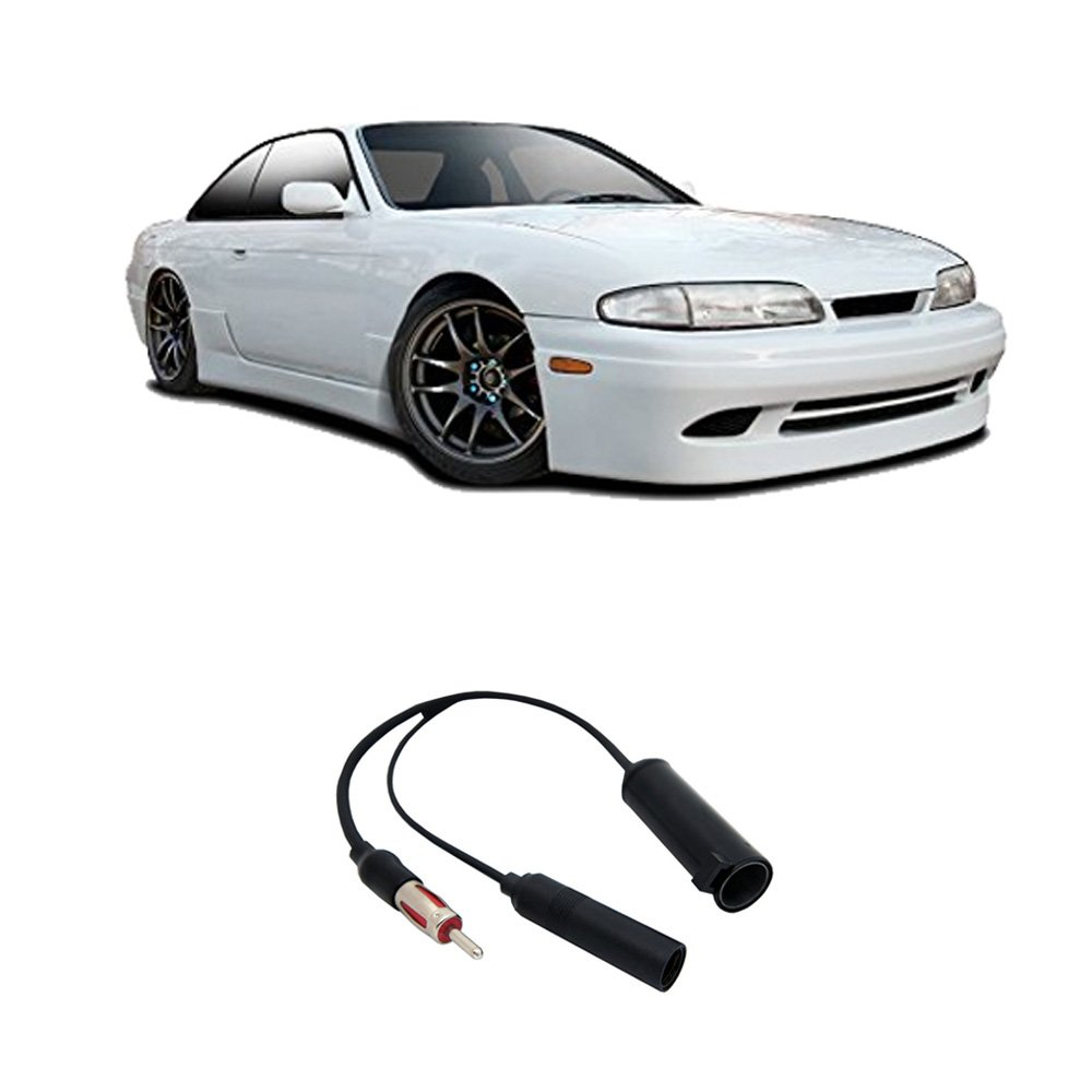 Get Quotations · Fits Nissan 240SX 1989-1998 Factory Stereo to Aftermarket  Radio Antenna Adapter Plug