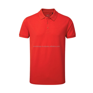 Customized Latest Men's Spandex Polo-Shirt/Wholesale High Quality Fashion Slim Fit Stretch Polo Shirt