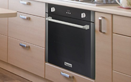 """Magic Chef MCSWOE24S 24"""" 2.2 cu. ft. Single Wall Oven with Convection, Stainless Steel"""