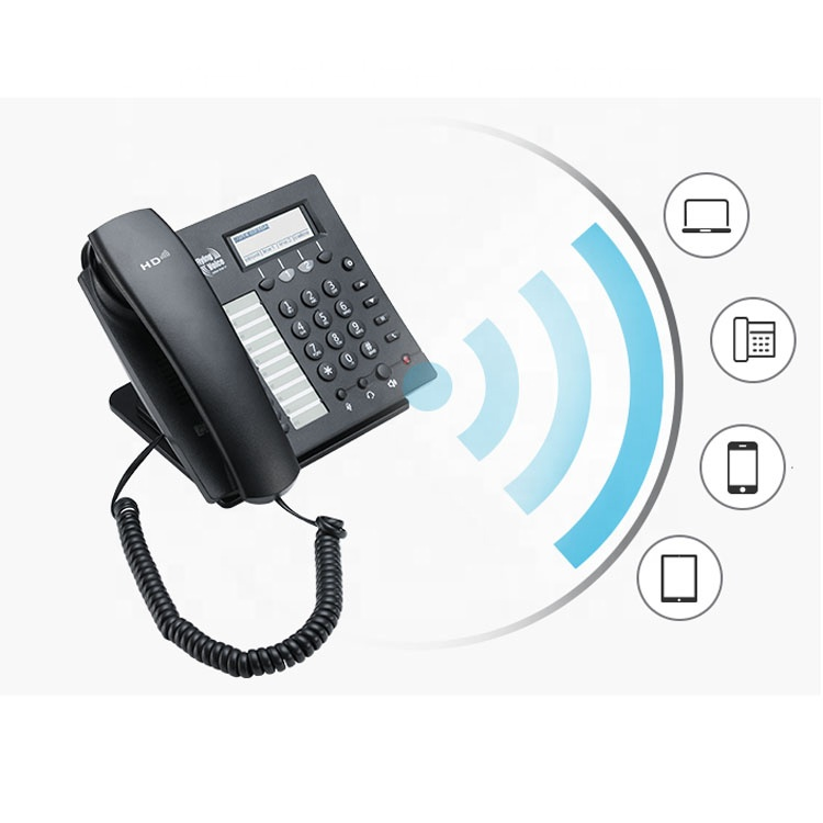 Wifi VoIP Pstn Phone/Hotel IP phone IP622CW HD Voice Conference Telephone