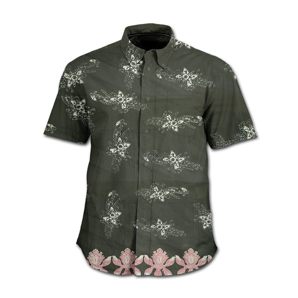 Formal Shirt Stamped Batik Shirts Indonesia Twin Mangrove