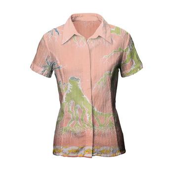 Handmade Batik T-Shirt Original from Indonesia bEqmCkW