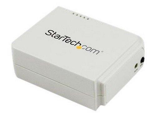 StarTech.com 1 Port USB Wireless N Network Print Server - 802.11 b/g/n - print server
