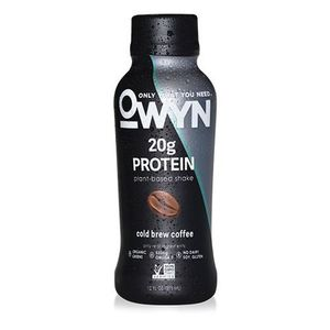 Vegan Cold Brew Coffee Protein drink plant based protein