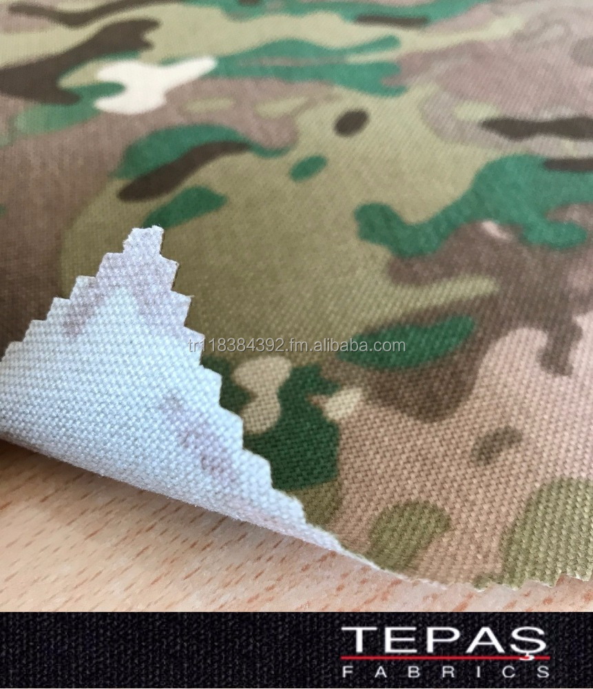 1000 Denier Nylon 6.6 Printed PU Coated Cordura Fabric for Tactical Vest Military Bag Backpack Rucksack