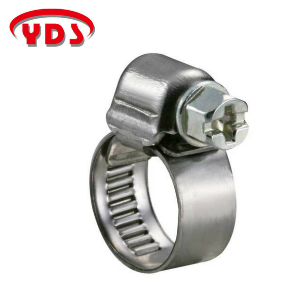 Taiwan stainless steel hose pipe clamp for auto tractor machinery and solar water pump