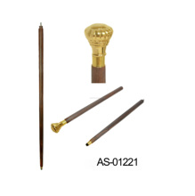 Walking Stick 골동품 Beautiful <span class=keywords><strong>나무</strong></span> Rose Derby Brass Handle