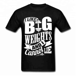 Men Gym Work T-SHirt Customized