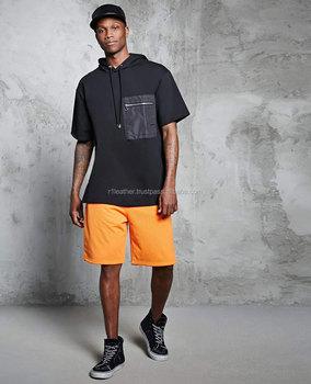 c34e6dcf OEM Men Hip Hop Two Tone No Hood Crew Neck Printed Oversized Sweatshirt