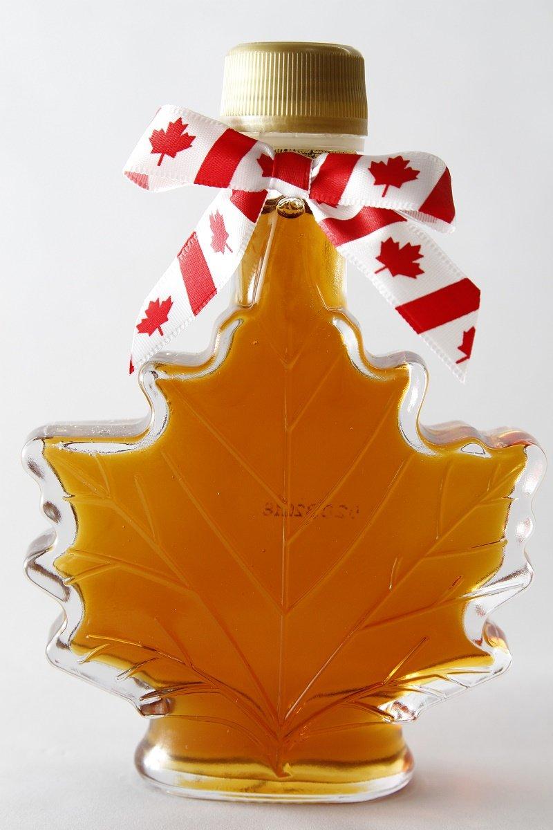557db07f636 Get Quotations · Maple syrup 100ml maple bottle No.1 Medium Canada Grade A Amber  rich taste (