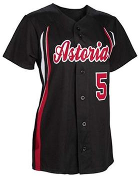 Custom baseball uniformen/baseball t shirt designs/frauen baseball shirts mit Polyester stoff