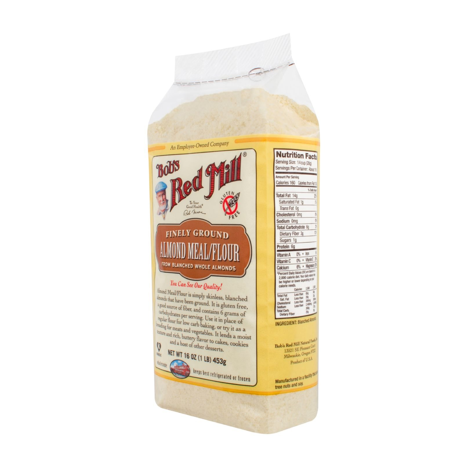 Bobs Red Mill Almond Flour - 16 oz - Case of 4 - Gluten Free -