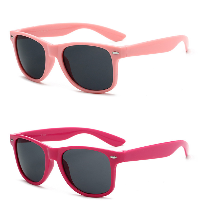 2019 cheap carbon fiber colored promotional plastic sunglasses