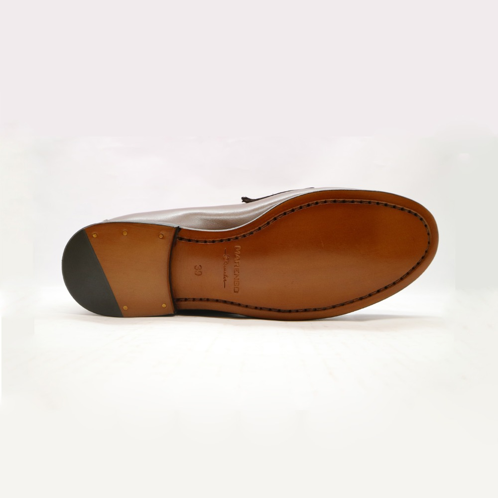 leather Vietnam loafers bit men shoes made in vAan451W