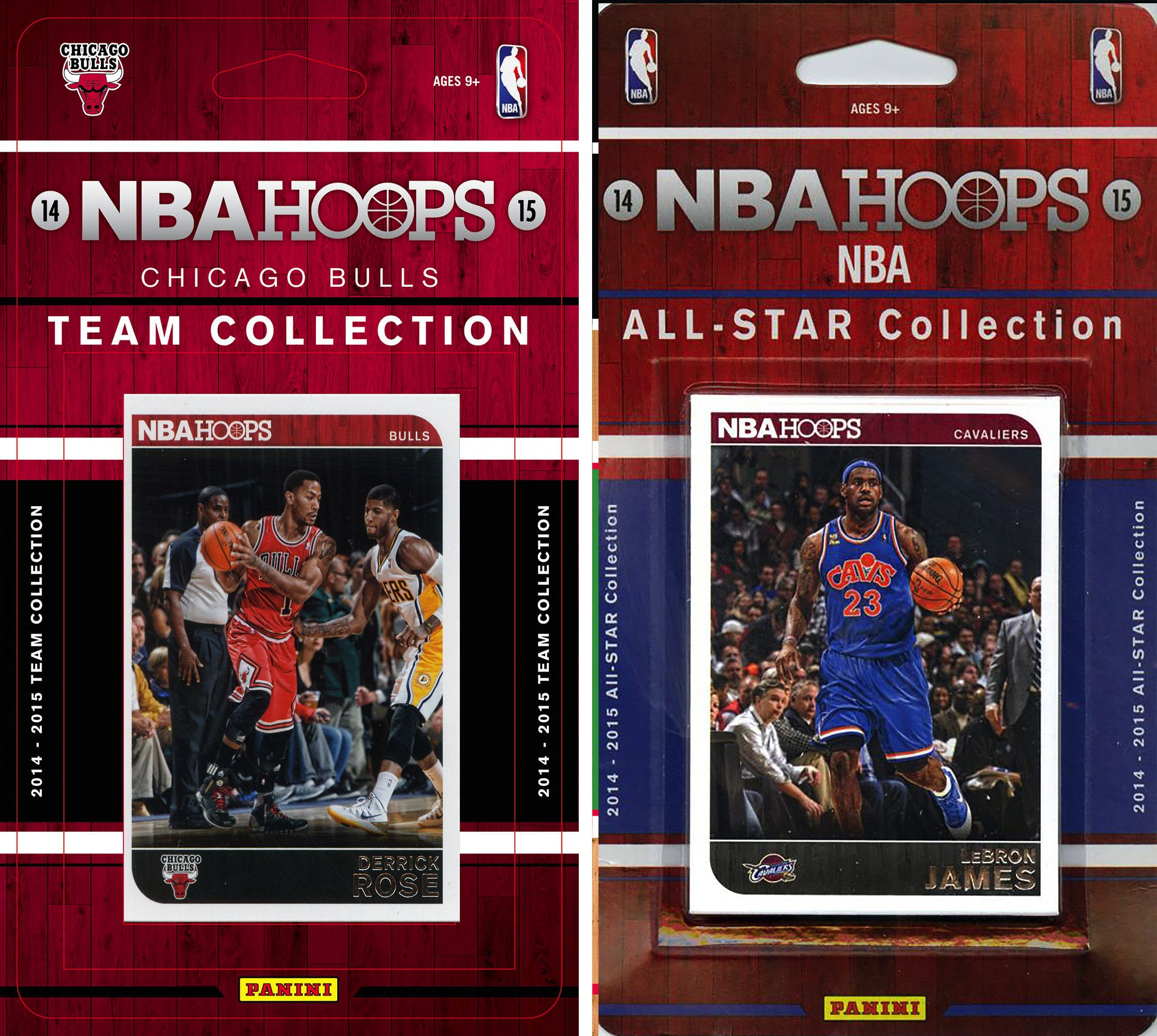 NBA Chicago Bulls Licensed 2014-15 Hoops Team Plus All-Star Set, Brown, One Size
