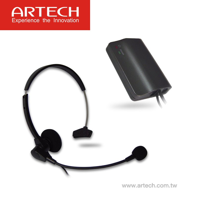 Artech Ah100 Call Center Hands Free Telephone Headset Headset With Amplifier For Pbx And Key Telephones Buy Call Center Noise Cancelling Telephone Headset Telephone Headset With Rj11 Plug Call Center Headset Product On Alibaba Com