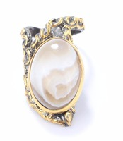 925 Sterling Silver Moonstone Hand Craft Ring Wholesale