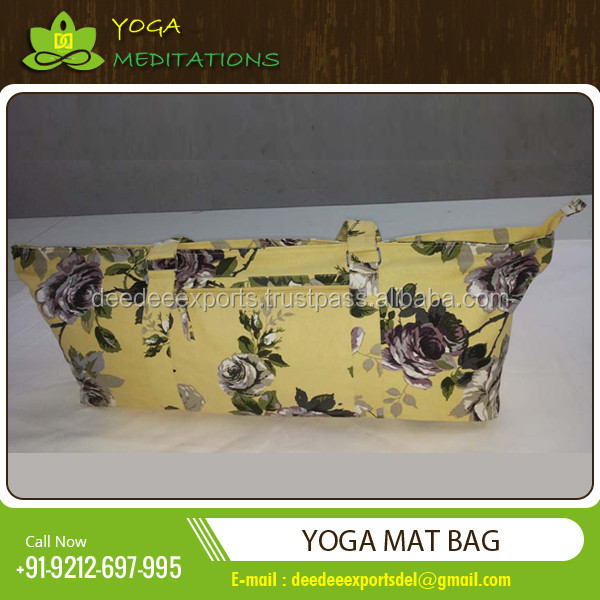Fashionable and Stylish Yoga Kit Bag for Carrying Accessories