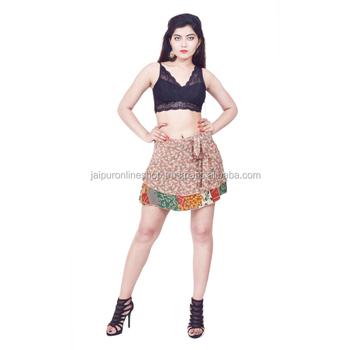 940dcda87895 Long Sexy Printed Vintage Skirts Silk Wrap Skirt - Buy Magic Wrap ...