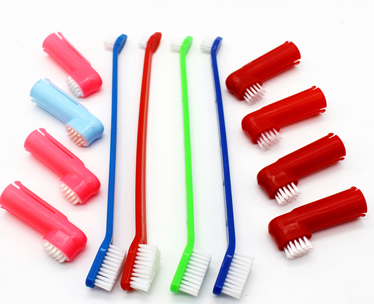 Wholesale Pet Finger Dog Toothbrush for Dogs and Cats Dental Care