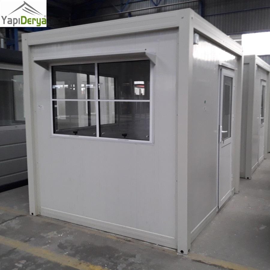 Kabin Office Cabin Security Steel Door for Pre-fab Building Site Container