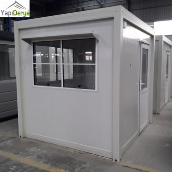 Prefab Portable Security Office Cabin Of 220cmx220cm