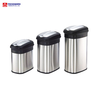 Big Capacity Commercial Kitchen Waste Collection Bin Touchless