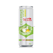 King Coconut Water Manufacturer With Mango Flavor 320ml Can
