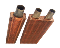 Copper and Copper Alloy Finned Tube Serpentines