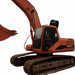 Second hand/used Condition 20 Ton doosan daewoo excavator DH220 DH225