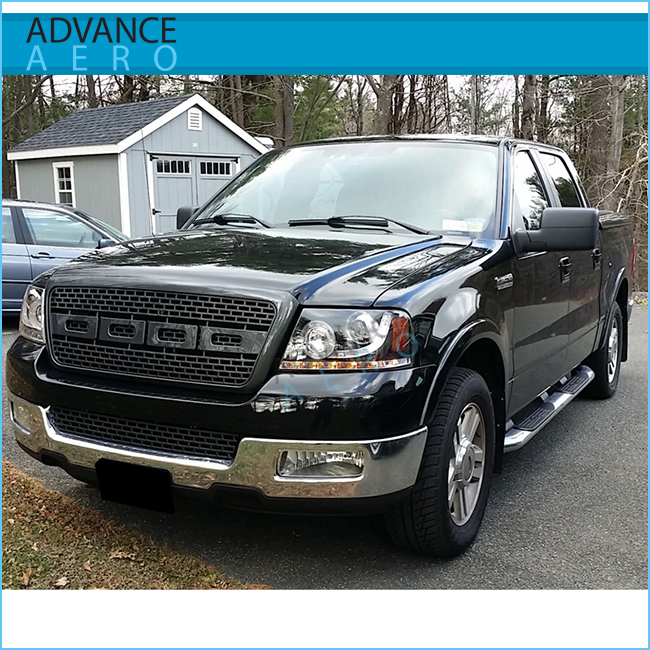2008 Ford Raptor >> For 2004 2005 2006 2007 2008 Ford F150 Raptor Style Front Replacement Black Hood Grille Upper Buy Grill For Ford F150 Hood Grille For Ford
