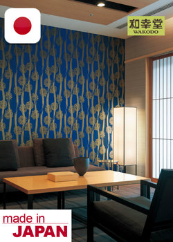 Hermosos Wallpaper Lilycolor, Materiales de Decoracion de Interiores, Hecho en Japon, Wall-covering, Sample Available