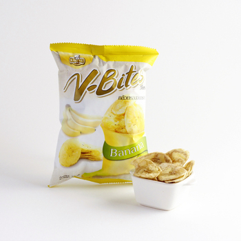 V-Bites 100% Halal banana chip fruits snack from Thailand