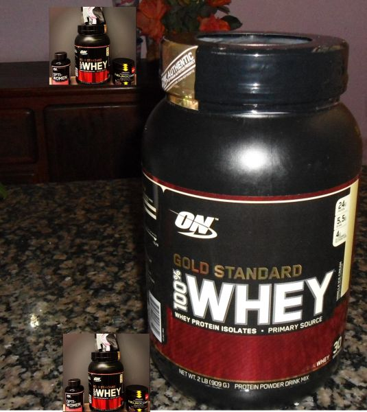 Authentic Optimum Nutrition Whey Protein 100% Gold Standard