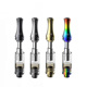 Mini Electronic Atomizer Cbd Oil Vape Cartridge Pink Vaporizer Pen Custom Clear Blister Packaging Tube For Vape Cartridges