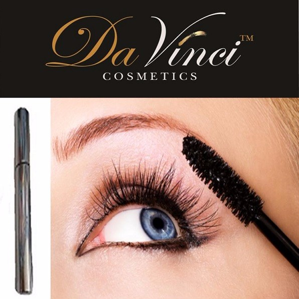 Da Vinci Cosmetics - Natural Mineral Big Volume Black Lashes Mascara -USA