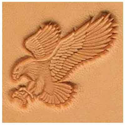 Springfield Leather Company Attack Eagle 3D Leather Stamp (Left Facing)