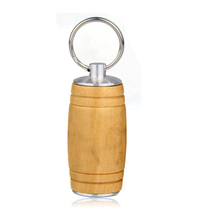 Bamboo Cylindrical 8GB 16GB USB 2.0 Memory Stick Flash Pen Drive Wedding Gift Wood