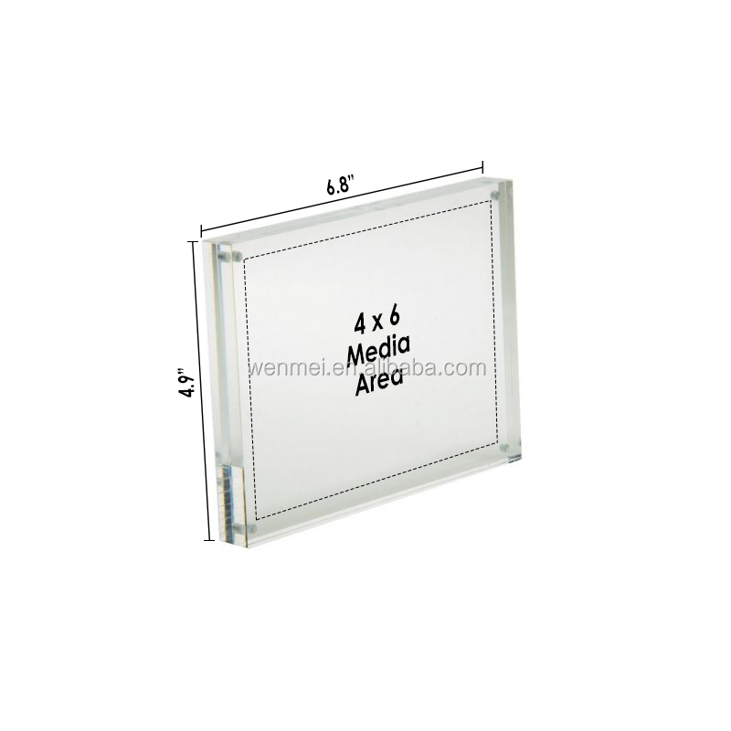 HOT Sale Magnetic Acrylic Picture Frame 5'' x 7''