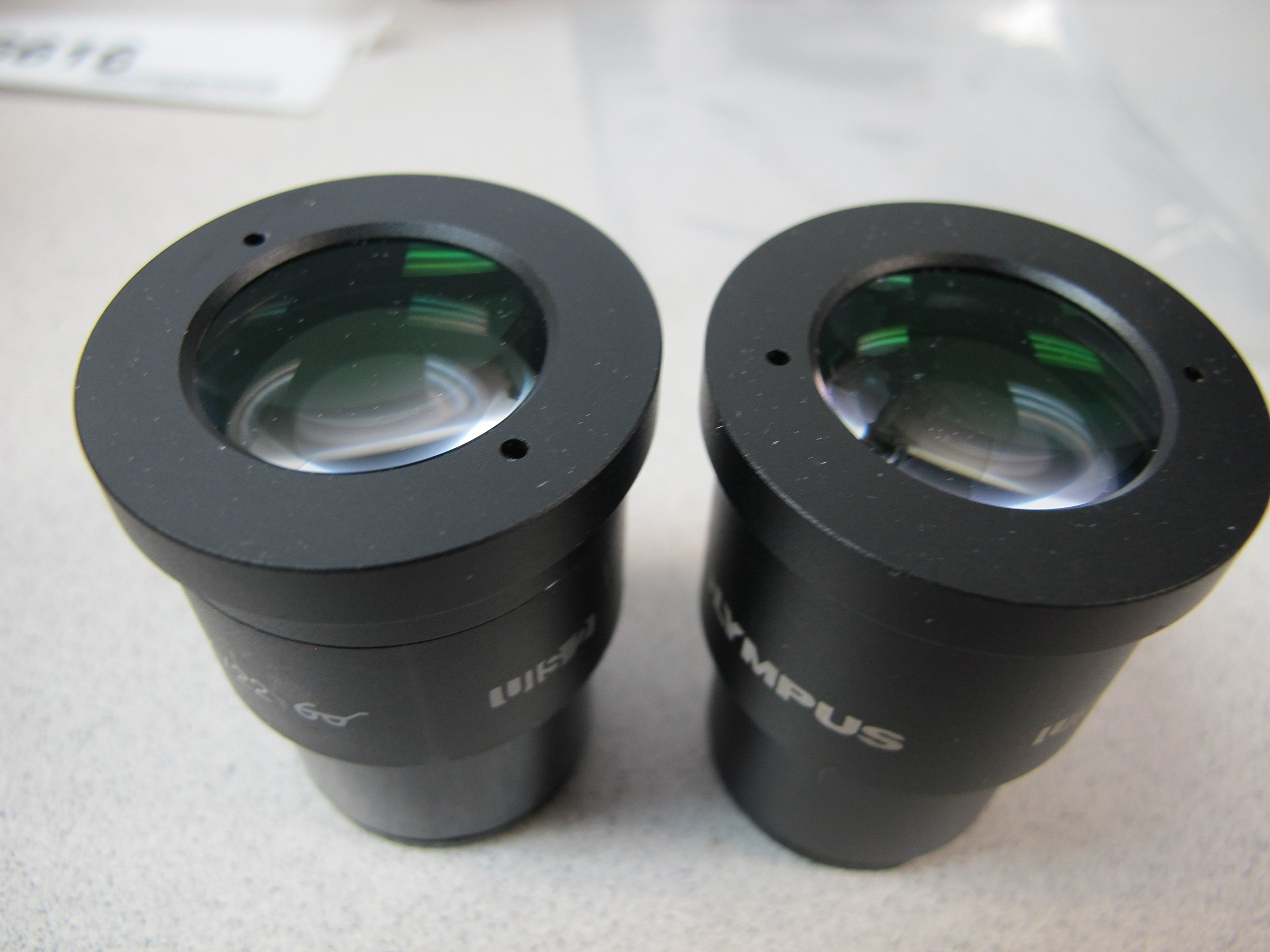 Microscope Eyepieces WHN 10X/22 Ocular Pair UIS2 for BX Olympus