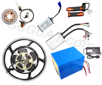 motorbike conversion kit 2000W 17 inch fast and high quality motorbike hub motor kit 2000W electric bicycle conversion kit