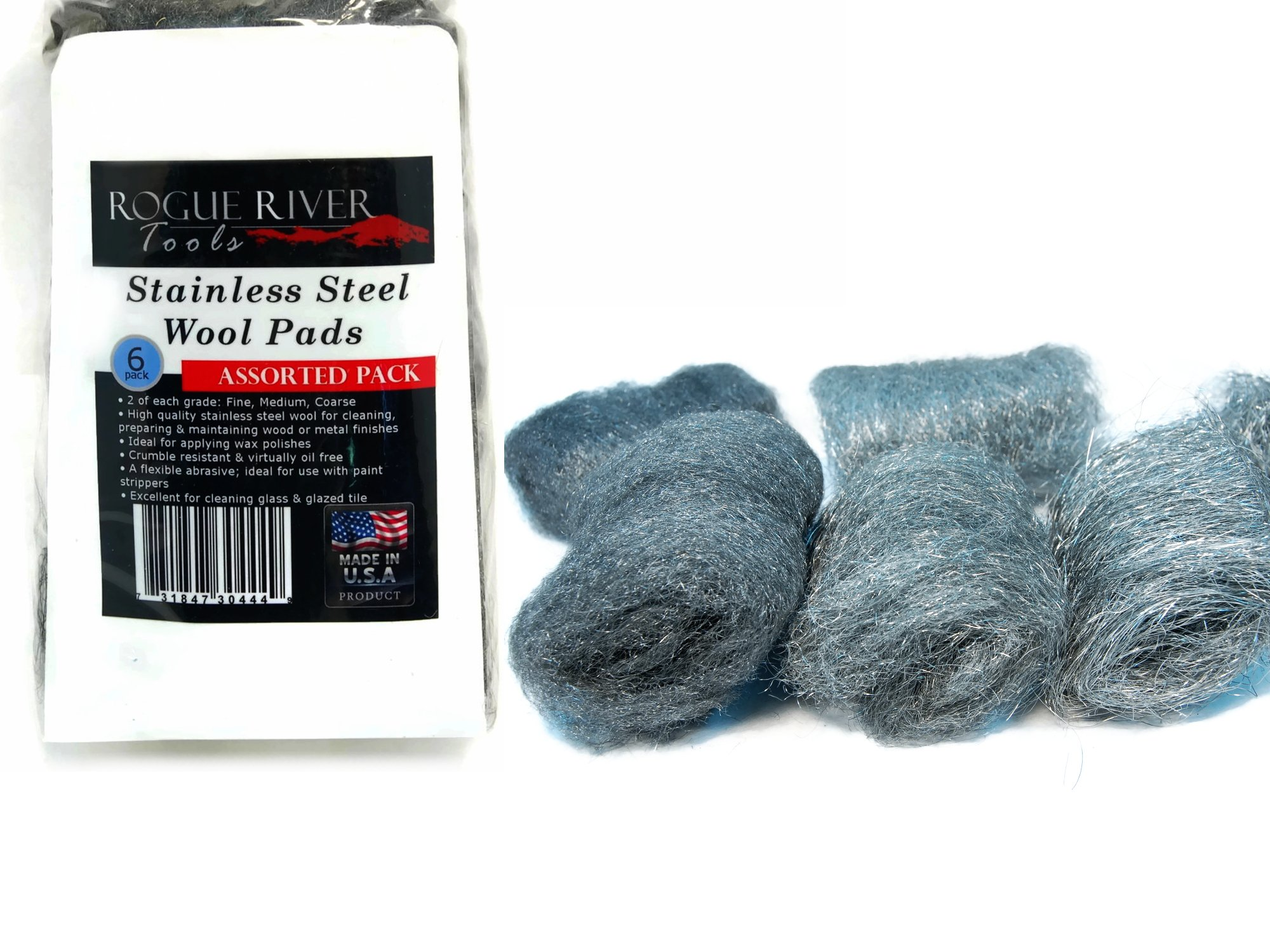3M 10116 Synthetic Steel Wool Medium