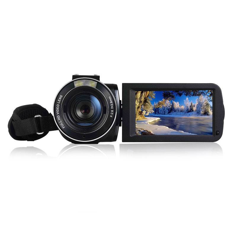 "24MP WIFI Cameras Digital HDV-Z20 3.0"" 1080P HD Wireless Video Camera DVR Hot Shoe Interface"