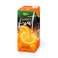 OEM Private Label Fruit Juice 200ml Orange Juice Drink