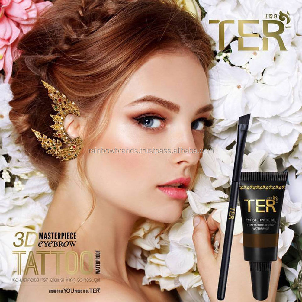 TER Masterpiece 3D Eyebrow Kit Tattoo Waterproof 4g