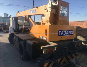 Japan original Used machine Tadano TS-80M 8t 25t 30t 40t 50t 90t 100t used Truck Crane for sale in low price