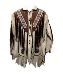 c0a1eccba Western/Native American Leather Jacket